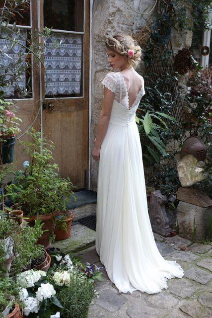 Robe de mariée Zélie d'Elsa Gary - Toulon Var 83