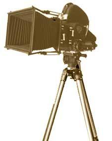 Verhuur filmdecor en filmrekwisieten. filmcamera, filmprojector, filmset, filmspots, Hollywood decor