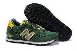 New Balance WL574 p rpura amarillo St mujeres zapatillas Espa a Venta Online