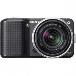 Camera foto digitala SONY NEX-3KB 14.2 Mp 3 inch negru Camere foto-video aparate foto dslr Sony Altex