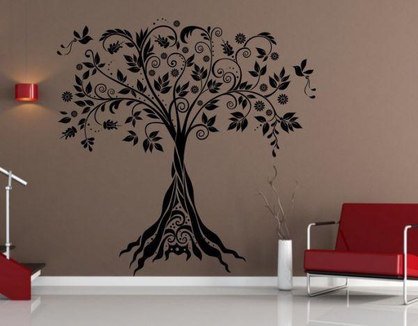 Wandschablonen - Schablone zum Malen Baum (2655x) - ein Designerstück von…
