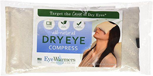 EyeWarmers brand dry eye compresses are a proven and effective way to reduce the symptoms of dry eye syndrome while targeting the cause of the problem - meibomian gland dysfunction (MGD). Made in the USA from only the finest, 100% natural and organic materials, our dry eye compress delivers safe and consistent therapeutic, moist warmth to your eyelids which promotes improved vascular circulation to the eyelid margins and a smoother meibum consistency.