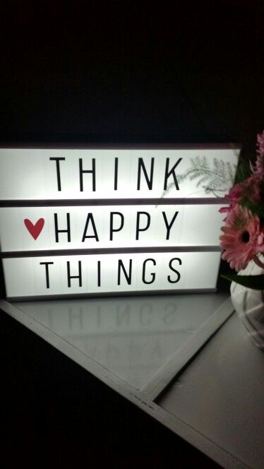 Think happy things ❤ instagram : @Me3laniie #lightbox #ownpic