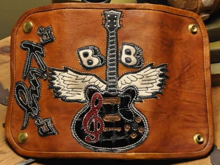 Wallet Tribute to BB King! (SOLD)