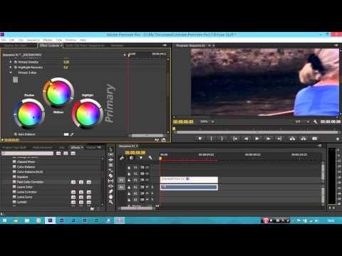 Video Editing Tutorial Beginner - Adobe Premiere Pro CC