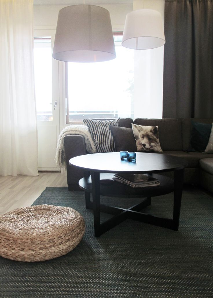 Livingroom in a city apartment, design by Jenni Koskela