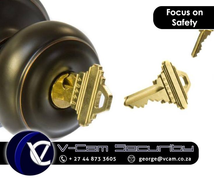 #SafetyTip: If you lose your keys, change the locks immediately. #Vcam #Security #cctv