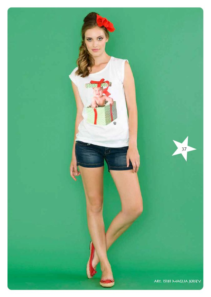 #Tshirt Jersey #LollyStar - Scopri tutta la collezione #SpringSummer qui --> http://www.lollystar.it/
