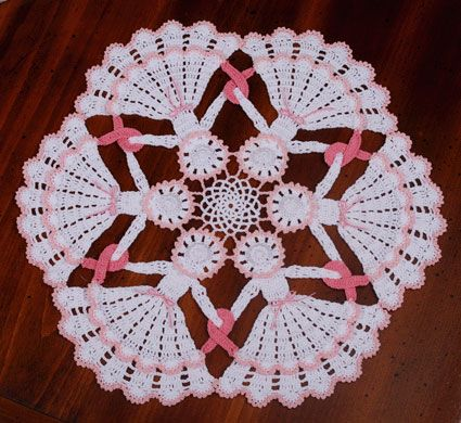 Circle of Hope Crinoline Doily from Crochetmemories.com for $4.75.