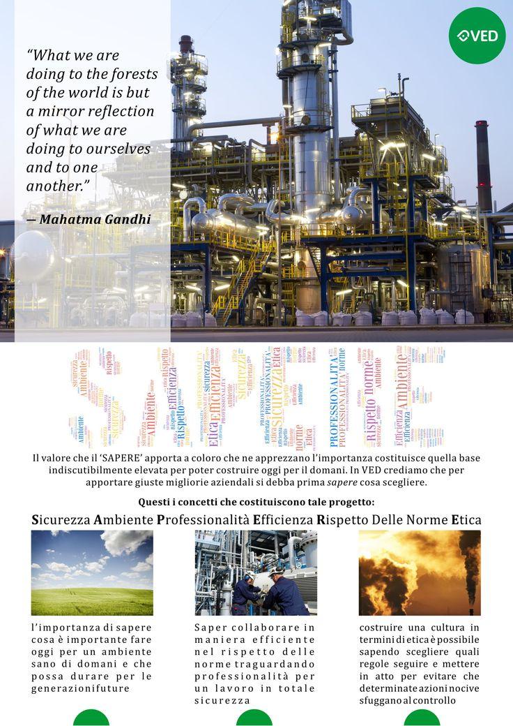 Progetto S.A.P.E.R.E. comprende tutti gli argomenti e concetti che roteano attorno alla VED