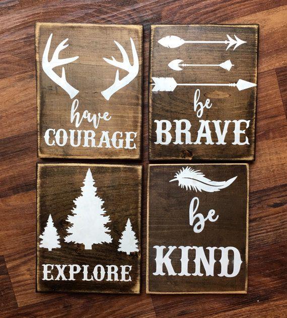 rustic arrow decor wood arrow signs woodland by Doodles4you