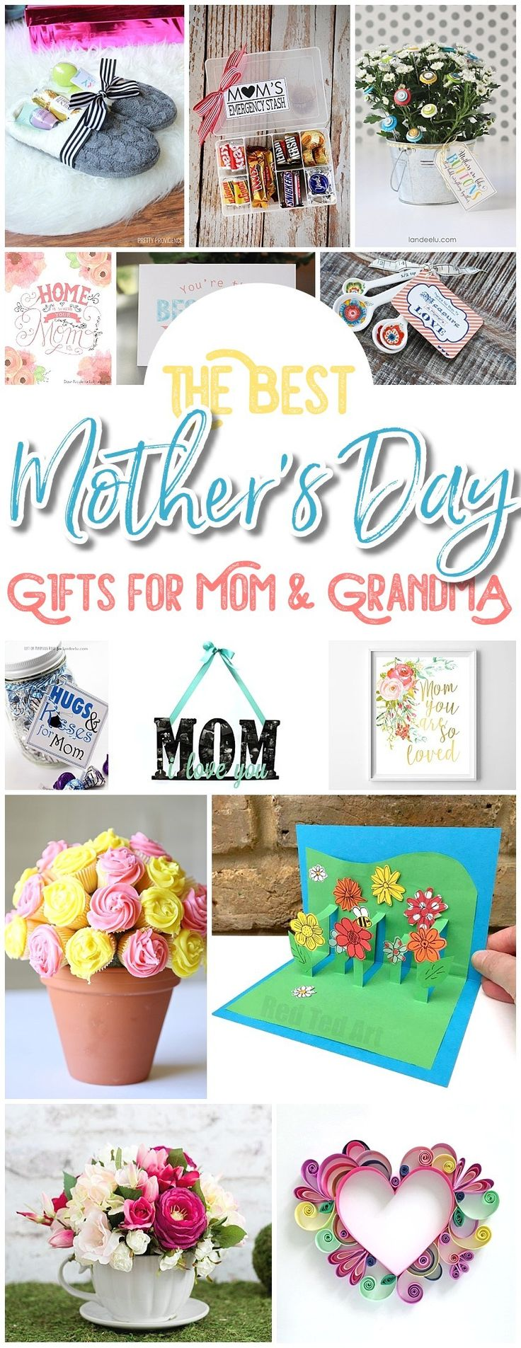 The BEST Easy DIY Mother's Day Gifts and Treats Ideas – Holiday Craft Activity Projects, Free Printables, Kids Paper Crafts and Favorite Brunch Desserts Recipes for Moms and Grandmas - Dreaming in DIY