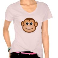 Cool Monkey Design Shirt