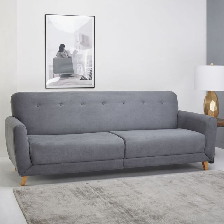 Sydney 3 Seater Fabric Sofa Bed – Next Day Delivery Sydney 3 Seater Fabric Sofa Bed from WorldStores: Everything For The Home