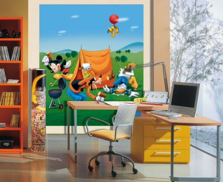 Goofy And Mickey Mouse Wall Mural By WallandMore. Disney Wall Murals. Part 81