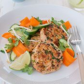 Thai Fish Cake With Bean Sprout Salad