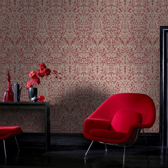 P&-S International Stripe Pattern Glitter Motif Metallic Textured ...