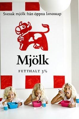 Svensk mjolk - best milk ever (and I don't even like milk)