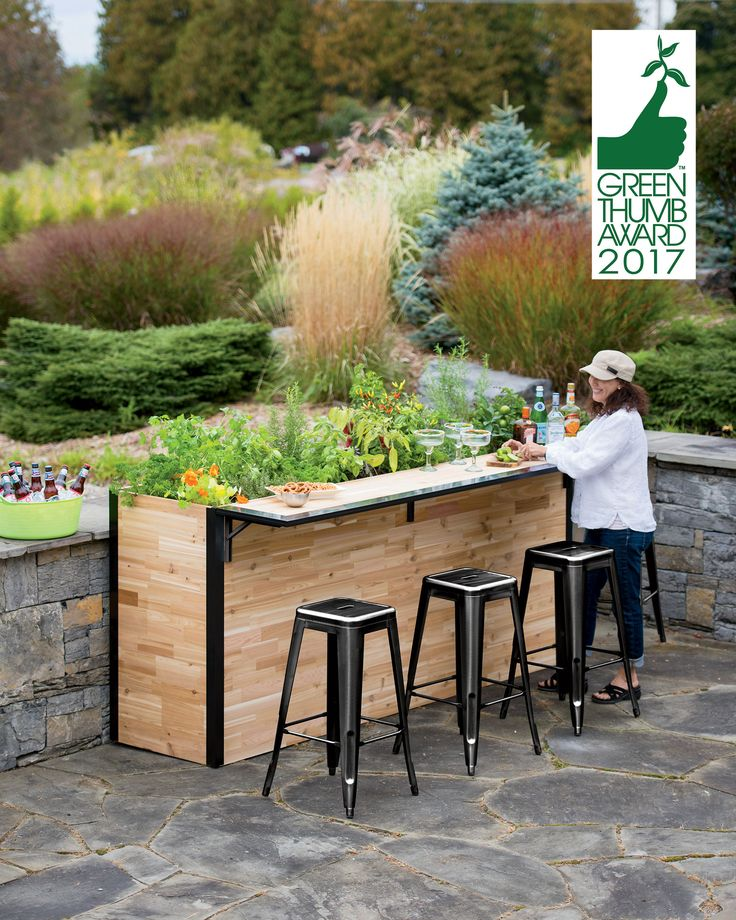 how to build an elevated garden box with legs