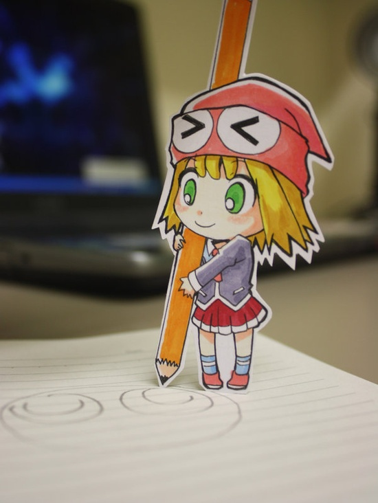 Chibi Paper Child
