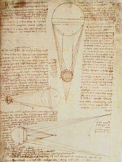 Codex Leicester — Étude sur les planètes de Léonard de Vinci