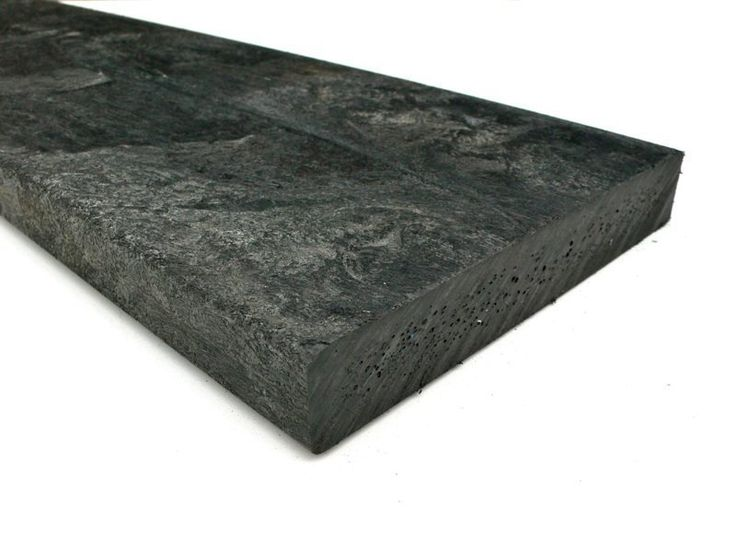 recycled plastic lumber - mixed plastics - 150 x 30 x 3000mm. looks perfect for raised beds that never rot.