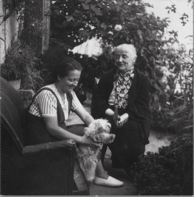 Germaine Tillion et sa mère Emilie en 1940
