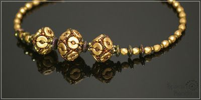 Theodora Beaded Beads Made with new Arcos and Minos par Puca beads