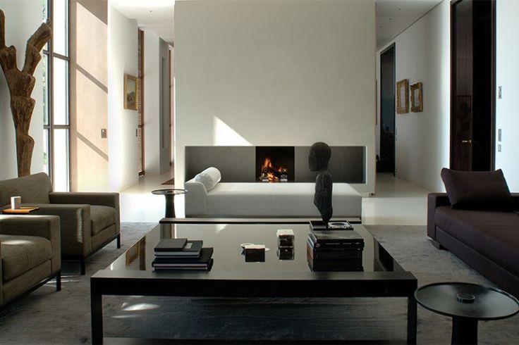 Sophisticated Monochrome Living Room