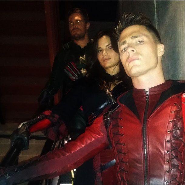 Arrow - Oliver Queen, Nyssa al Ghul, Arsenal