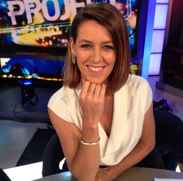 Gorgi looking stunning in Lady Fox Angel Love Earrings and Maya Cuff on #theproject