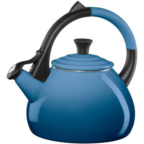 Le Creuset Enameled Steel 1.9-Quart Oolong Tea Kettle, Marseille With classic and modern shapes, there's a Le Creuset kettle to fit into any kitchen design scheme. Also convenient to