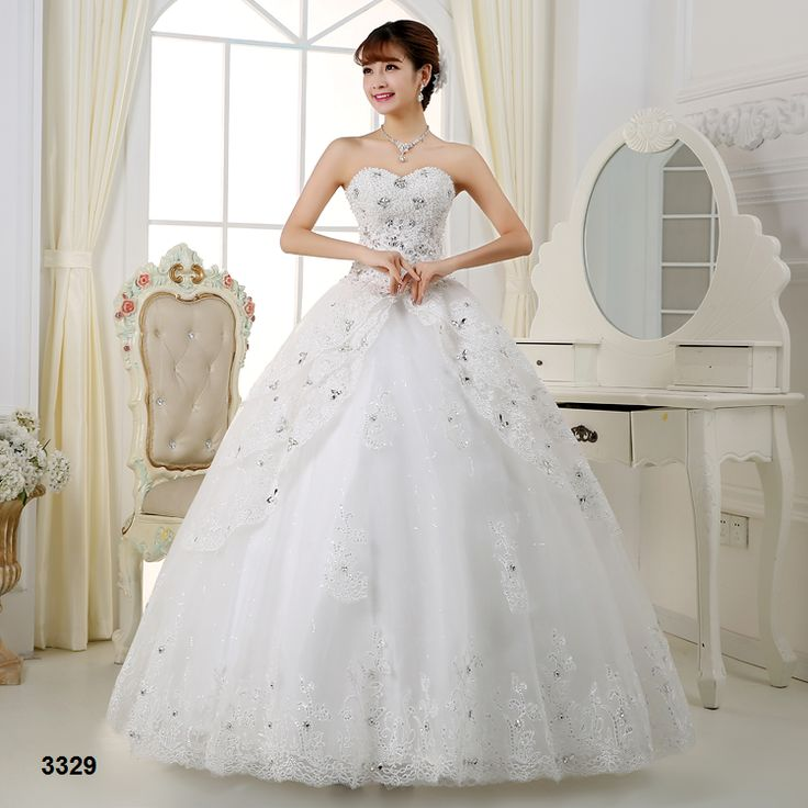 Classical Wedding Ball Gown