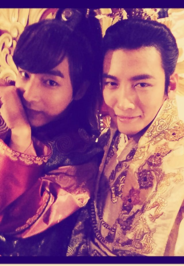 These two *-* - Empress Ki <3 BTS--- tal tal and the emperor! faveeeee characters.