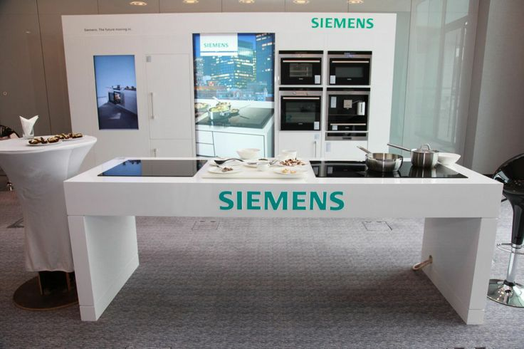 siemens booth design exhibition stand contractors dubai focus direct exhibition stands. Black Bedroom Furniture Sets. Home Design Ideas