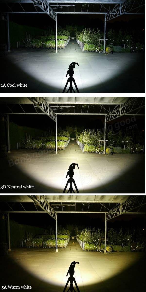 BLF A6 XPL 1600LM 7/4modes Non-anodized EDC LED Flashlight 18650
