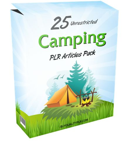 25 Unrestricted Camping PLR Articles Pack - http://www.buyqualityplr.com/plr-store/25-unrestricted-camping-plr-articles-pack/.  #camping #campingtrip #picnic #campingequipment #affordableequipment #campinglocations #familypicnics 25 Unrestricted Camping PLR Articles Pack In this PLR Content Pack You'll get 25 Unrestricted Camping PLR Articles Pack with Private Label Rights to help you dominate the Camping market which is ....