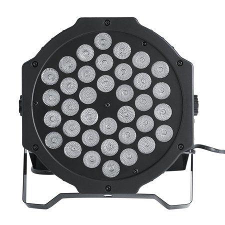 Yosoo 72W 36LED RGB Stage Light DJ Party Disco Club Lighting DMX512 with Remote Control US Plug 110V , RGB Stage Light, Stage Spot Light