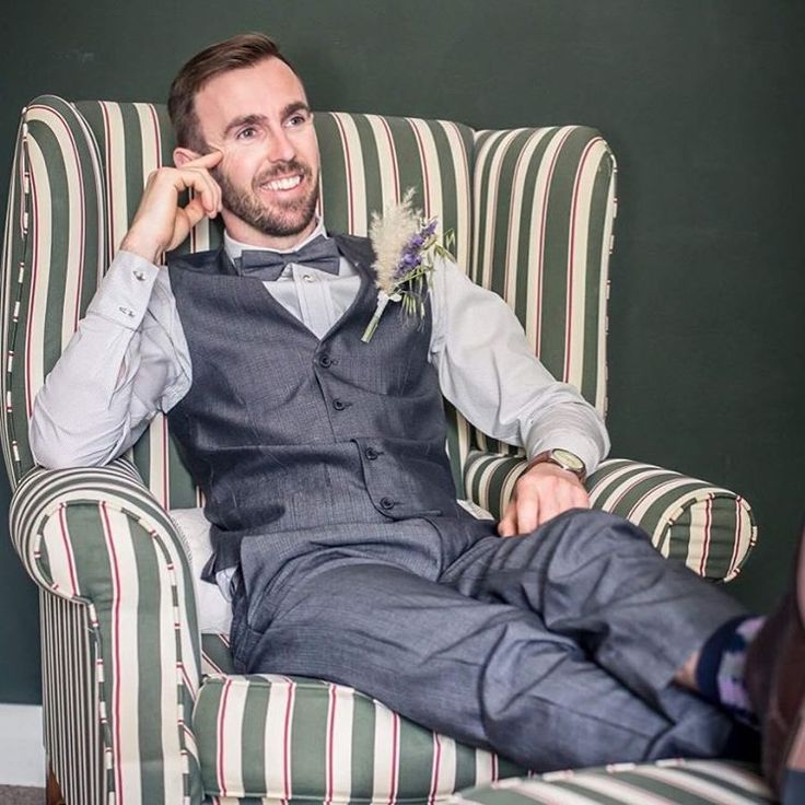 How dapper does our client Adrian look for his summer wedding? We're talking lots of wedding attire options in store at the moment- there's no formula!