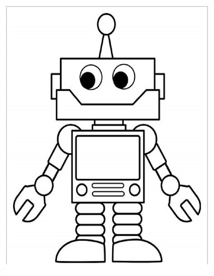 Pin By Cleo On Coloring Pages Coloring Pages For Boys Coloring Pages For Kids Robots For Kids