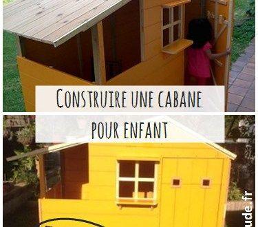 Tuto cabane pour enfant http://bricoattitude.fr/construire-cabane-enfant/ #tuto #DIY #cabane