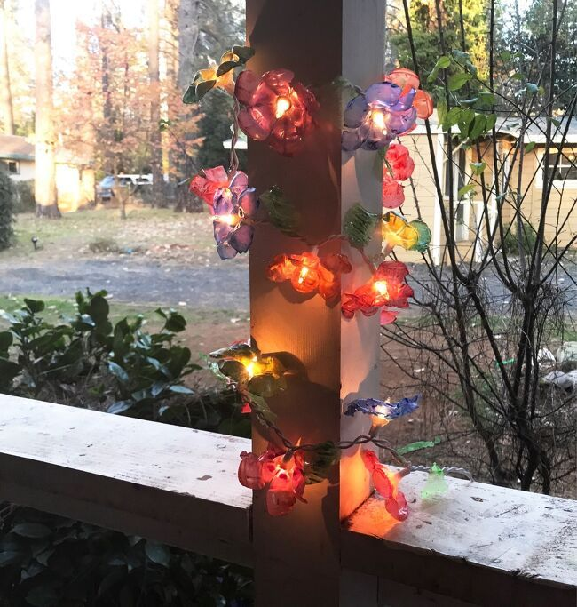 Christmas Lights Recycling 2020 How to Make Flower Lights Out of Recycled Plastic DIY in 2020