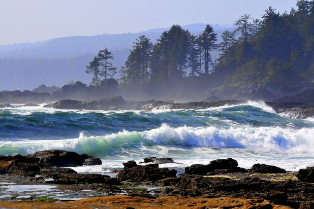 Vancouver Island Canada storm watching
