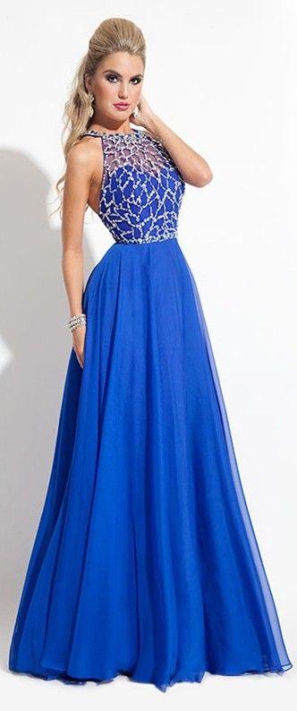 Best 25  Royal blue prom dresses ideas on Pinterest | Long blue ...
