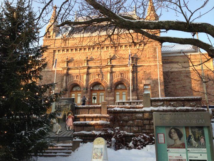 Turun taidemuseo i Turku, Länsi-Suomen Lääni