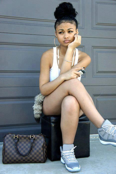 Pretty Girls Tumblr With Swag Light Skin Images & Pictures - Becuo