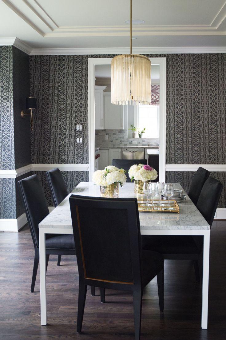 Before & After: A Fashion Stylist's DC-Area Home Proves Black And White Never Fails  - ELLEDecor.com | Naina Singla