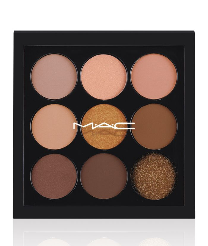 MAC Cosmetics' new collection 'Eyes on MAC' got me drooling all over. 'Amber Times Nine' palette is now a necessity in my life. Find it here: http://www.shopstyle.com/action/loadRetailerProductPage?id=472583175&pid=uid6944-23958212-74