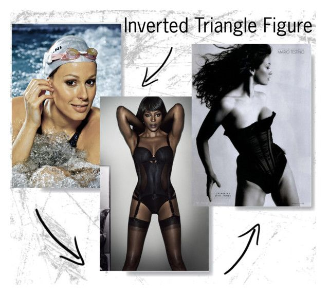 """""""Inverted Triangle Figure"""" by desiresinstyle on Polyvore featuring moda, Naomi Campbell, Vanity Fair, women's clothing, women's fashion, women, female, woman, misses e juniors"""
