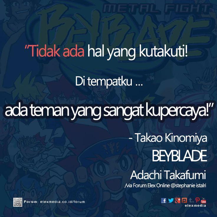 #ComicQuote Komik BEYBLADE - Adachi Takafumi http://ow.ly/zfuxX mobile http://ow.ly/zfuyZ Pemesanan http://ow.ly/zfuAm